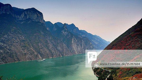 Wu gorge in chongqing