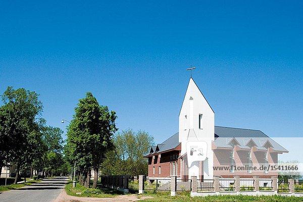 Methodist Church in Sillamäe  Eastern Estonia