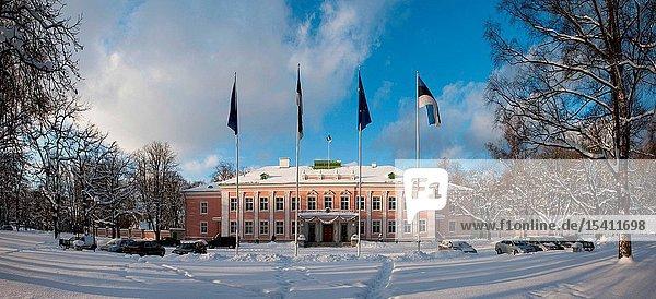 The Presidential Residence in Kadriorg