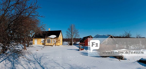 Hosby village on Vormsi Island  Estonia