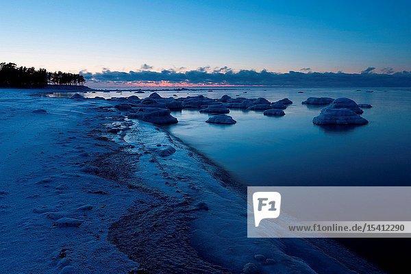 Coast in Dirhami in Western Estonia