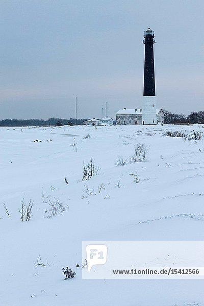 Beacon on Sõrve peninsula  Saaremaa island