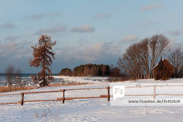 Natturi Village in winter