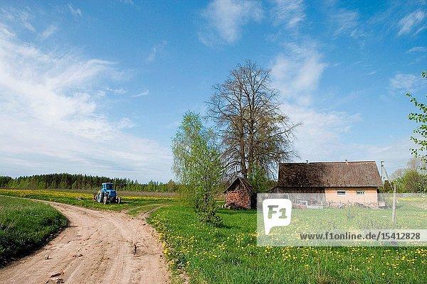 Tobrova village  Võru County  Southern Estonia