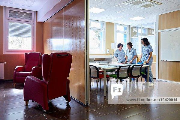 Classroom of feeding  Psychiatry  Hospital Donostia  San Sebastian  Gipuzkoa  Basque Country  Spain