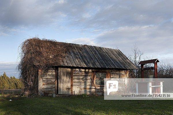 House in Hosby village on Vormsi island