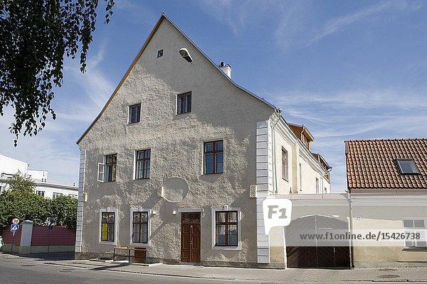Building in Tartu  Lai street