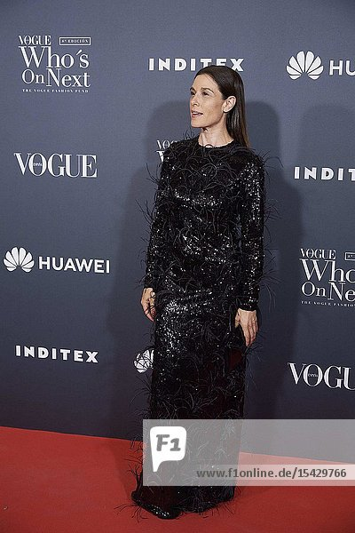 Raquel Sanchez Silva attends 'Vogue Who's On Next' Madrid Photocall at Gran Maestre Theatre on May 23  2019 in Madrid  Spain