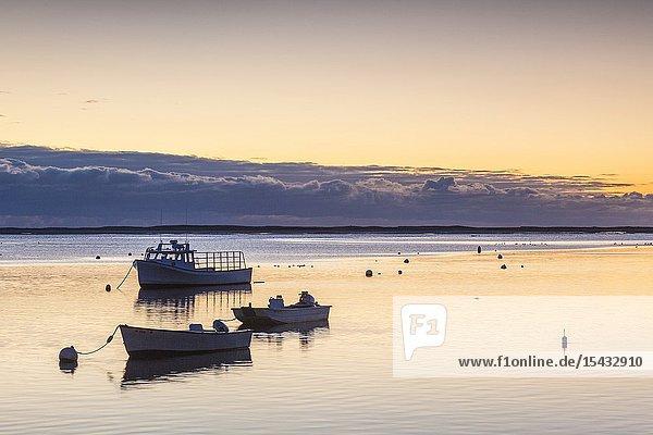 USA  New England  Massachusetts  Cape Cod  Chatham  Chatham Harbor  dawn.