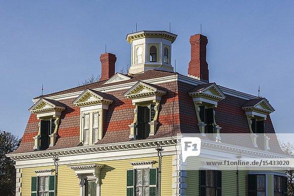 USA  New England  Massachusetts  Cape Cod  Eastham  Fort Hill  Edward Penniman House  fomer sea captain's home  built in 1868.