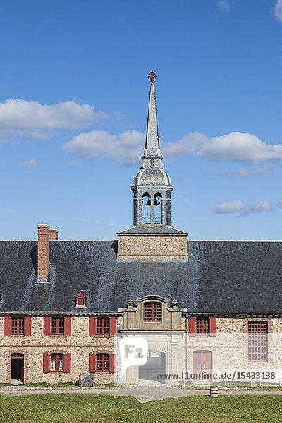 Canada  Nova Scotia  Louisbourg  Fortress of Louisbourg National Historic Park  Kings Bastion Barracks.