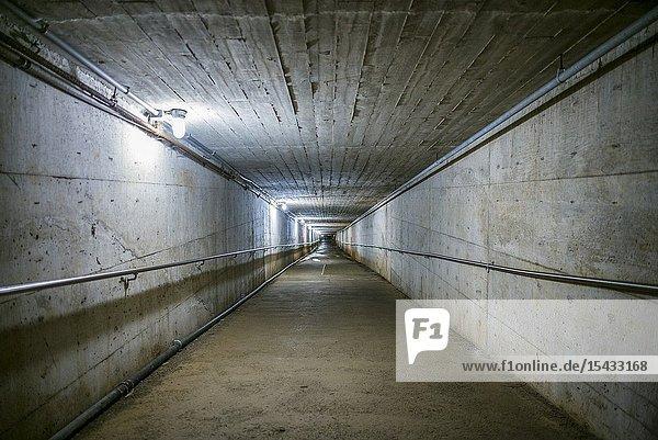 Canada  Nova Scotia  Glace Bay  Cape Breton Miners Museum  coal mining history museum  museum coal mine entrance.