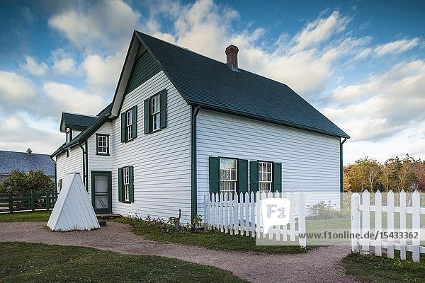 Canada  Prince Edward Island  Cavendish  Green Gables House  former home of Anne of Green Gables author Lucy Maud Montgomery.