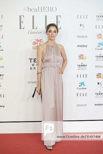 Sofía Sanchez de Betak attends Solidarity gala dinner for CRIS Foundation against Cancer at Intercontinental Hotel on May 30  2019 in Madrid  Spain