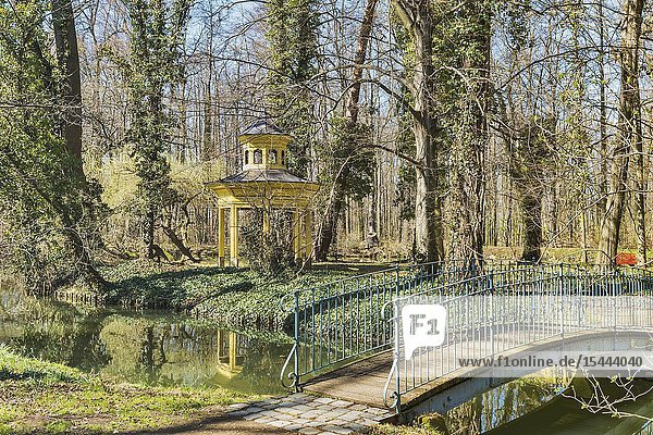 The Park Jahnishausen is located in Riesa  administrative district Meissen   Saxony  Germany  Europe.