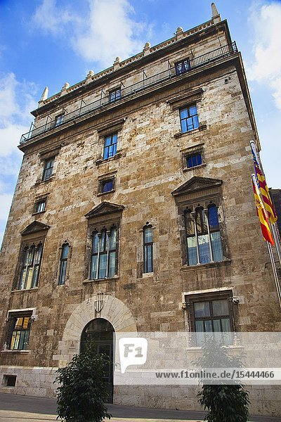 Palau de la Generalitat. Palace of the Generalitat (seat of the Valencian Autonomous Government). Valencia. Comunidad Valenciana. Spain.