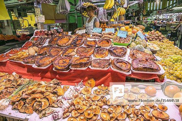 Ruzafa Market. Valencia. Comunidad Valenciana. Spain.