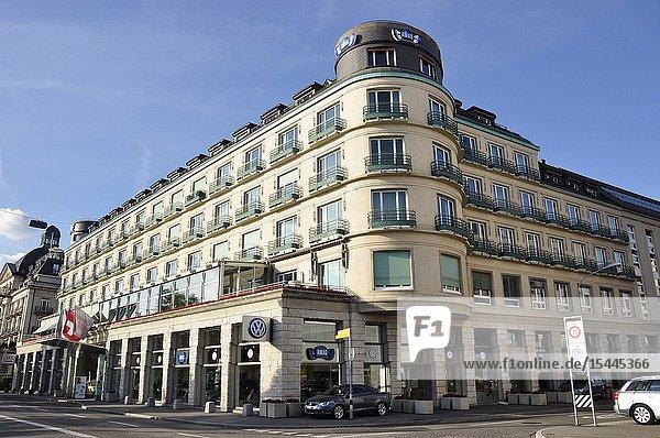 The luxury Steigenberger Hotel in Zürich Bellerive.