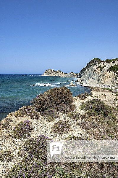Greece Erikoussa Island  Ionian Islands  Europe  Corfu district  Fiki coast.