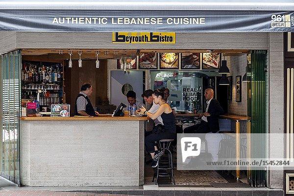 The Beyrouth Bistro Cafe  Hong Kong  China.