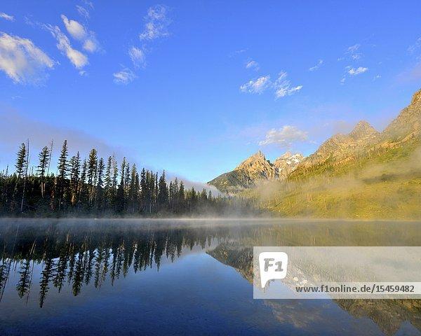 String Lake  Grand Teton National Park  Wyoming  United States.