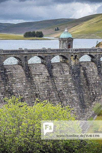 Craig Goch reservoir at Elan Valley  Powys  Wales.