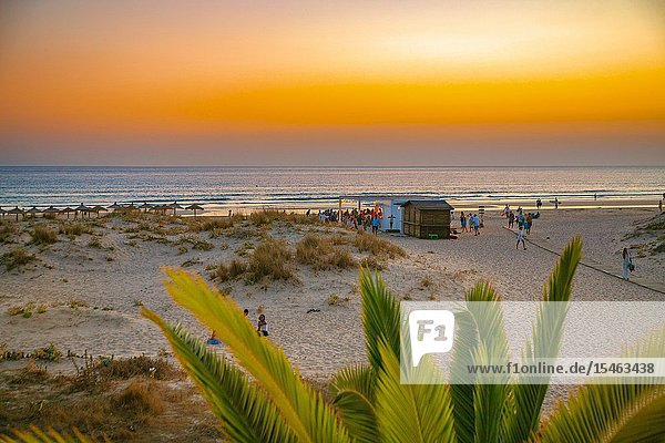 Zahara de los Atunes. Barbate Municipality. Costa de la Luz. Cadiz Province. Andalusia. Andalucia. Spain.