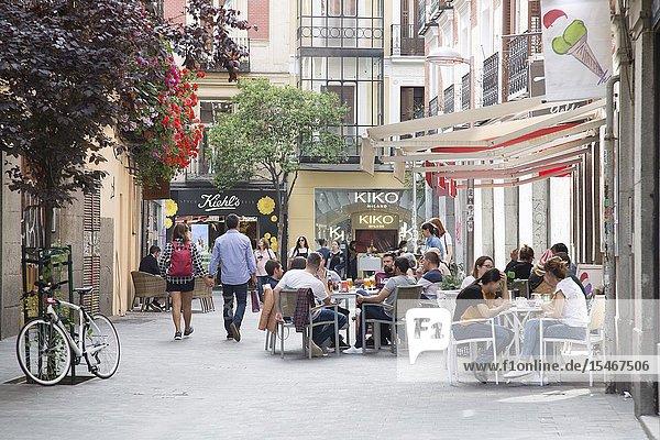 Perez Caldos Street  Fuencarral  Madrid  Spain.