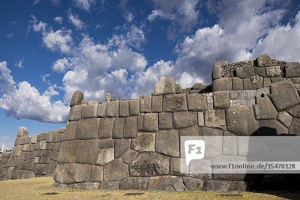Peru  Cusco  Saqsaywaman archaeological complex.