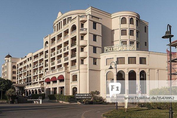 The 5 star graded Grand Hotel 'Primoretz' in Burgas  Bulgaria.