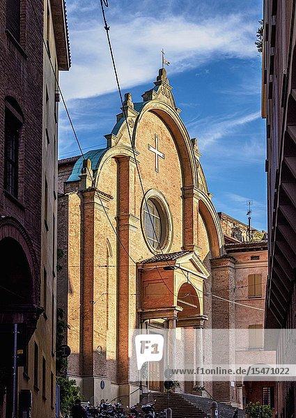 San Giovanni in Monte Oliveto Church  Bologna  Emilia-Romagna  Italy.