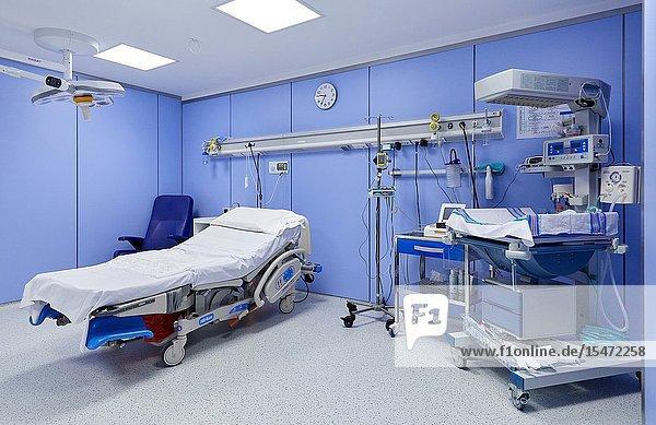 Delivery room  Maternity ward  Hospital Donostia  San Sebastian  Gipuzkoa  Basque Country  Spain