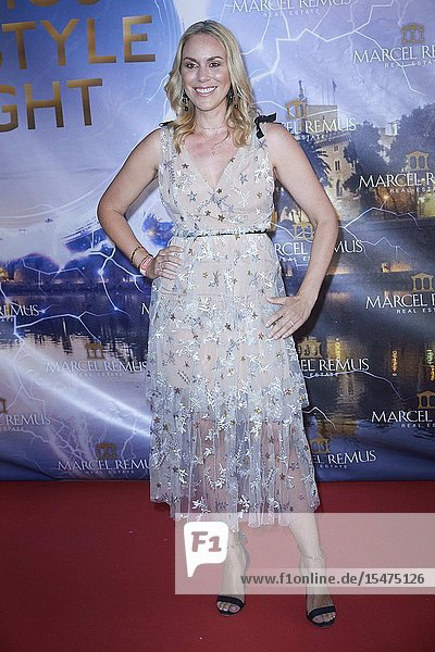 Monica Mier-Ivancan attends Remus Lifestyle Night Party at Llaut Hotel on August 1  2019 in Palma  Spain