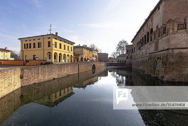 Fontanellato village  Parma district  Emilia Romagna  Italy.