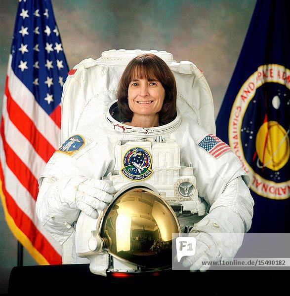 Astronaut Linda M. Godwin  STS-108 mission specialist.