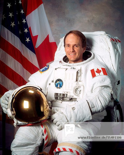 Astronaut Steven G. MacLean  mission specialist representing the Canadian Space Agency.
