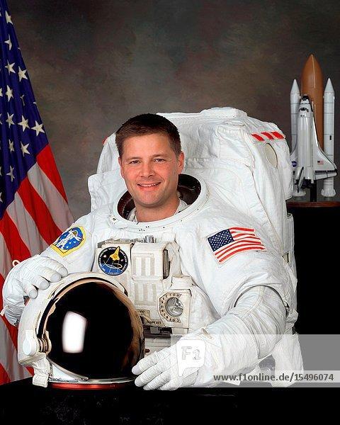Astronaut Douglas H. Wheelock  mission specialist