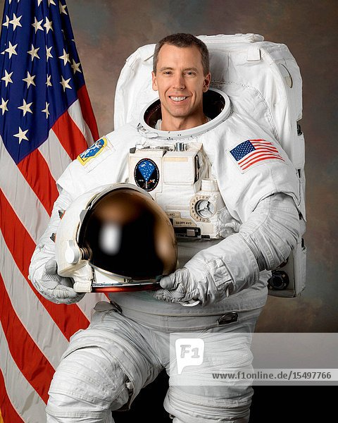 NASA astronaut Andrew J. Feustel  mission specialist.