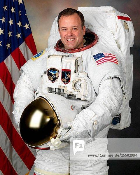 NASA astronaut Ron Garan  flight engineer. Location: Building 8  Room 272 - Photo Studio.
