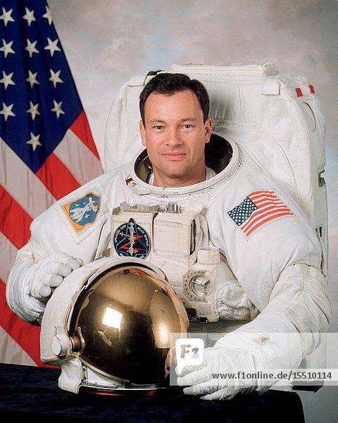 Astronaut Michael E. Lopez-Alegria  mission specialist.