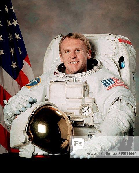 Astronaut Andrew S. W. Thomas.