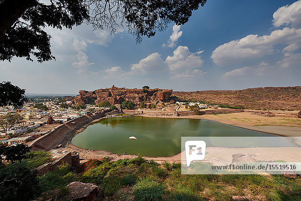 Höhle III von Badami  Karnataka  Indien
