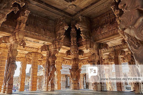 Vijaya Vitthala Temple  Hampi  Karnataka  India