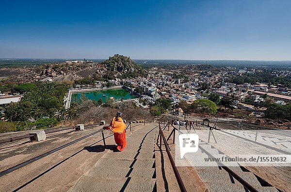 Gommateshwara Statue  Jain-Tempel  Shravanabelagola  Karnataka  Indien