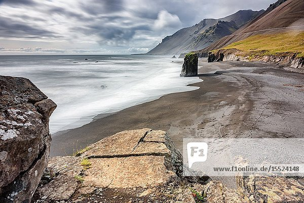 Eastern coast of Iceland. Northern Europe.