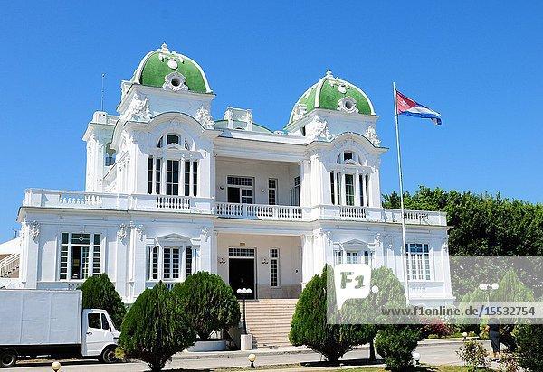 Cuba: The Yacht Club of Cienfuegos City.