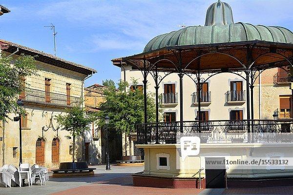 Plaza de España - Miranda de Ebro  Burgos province  Castile and León  on the border with the province of Álava and the autonomous community of La Rioja  Spain  Europe