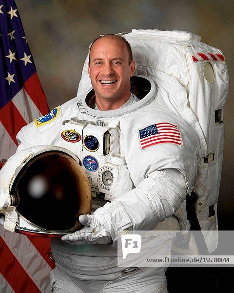 Astronaut Garrett E. Reisman  flight engineer