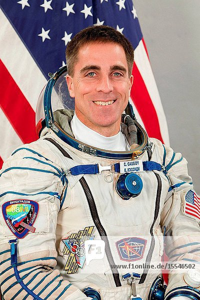 Portrait of Expedition 3536 Flight Engineer Chris Cassidy of NASA. Photo credit: Gagarin Cosmonaut Training Center