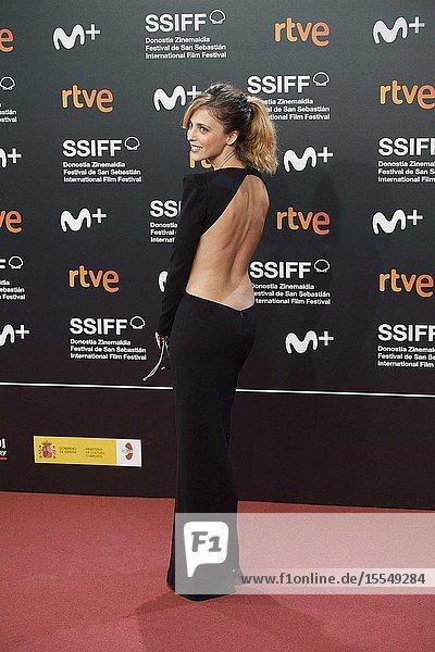 Leticia Dolera attended Opening Ceremony during 67th San Sebastian Film Festival at Kursaal Palace on September 21  2019 in San Sebastian  Spain